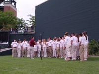Chico State at Orioles Game, 2005