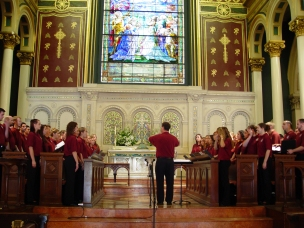 Chico State at Old St. Paul's, Baltimore, 2005