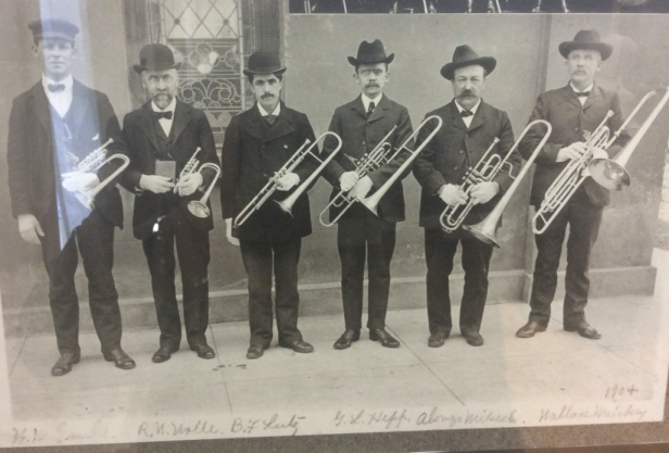 Lititz Trombone Choir, 1904